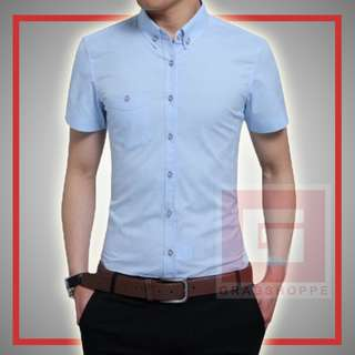TRENDY MEN'S POLO (SKYBLUE) 👕