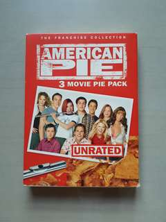 Unrated American Pie DVD - 3 Movie Pack