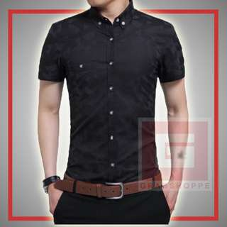 TRENDY MEN'S POLO (BLACK) 👕