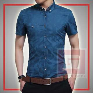 TRENDY MEN'S POLO (LAKE BLUE) 👕
