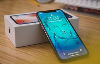 Apple iPhone X 64GB Space Gray Garansi Internasional Bisa Kredit Tanpa Cc