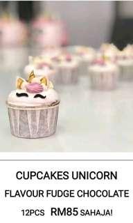 Unicorn cupcake 12 pcs