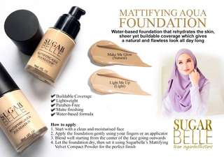 MATTIFYING AQUA FOUNDATION