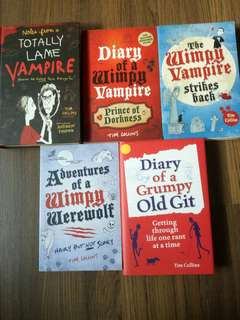 Diary of a wimpy vampire series