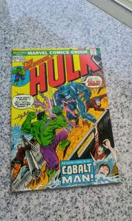 Incredible Hulk Early bronze age comics