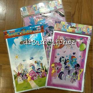 10 pcs My Little Pony loot bags