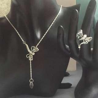 Pandora Bracelet and Ring