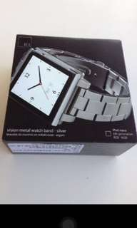HEX VISION Metal Watch Band for iPod Nano 0605 NEW 全新表带
