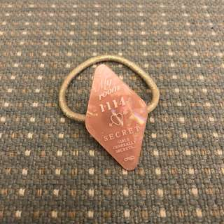 日本spank粉紅色根筋髮飾hotel key