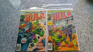 Incredible Hulk bronze age comics