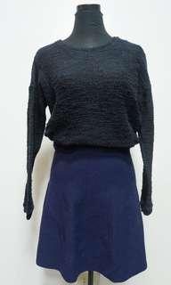 Repriced 60⚡️Penshoppe black sweater
