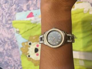 Swatch water resistant