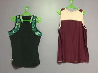 Yoga and workout tops