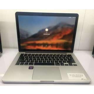 MacBook Pro Retina 13inch Mid 2014 SSD 512MB