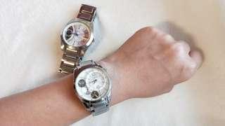 🚚 二手Fossil 男女對錶/手錶
