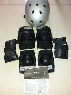 Wirst protector /knee guard protetor/arm protector/ scooter helmet set all for $28