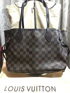 LV Neverfull damier small