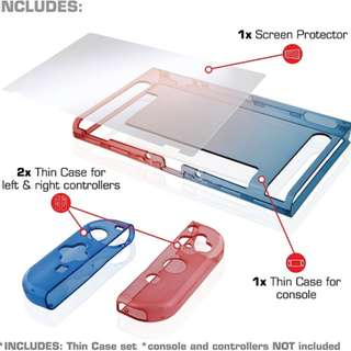 Nyko Thin Case/Screen Protector Nintendo Switch