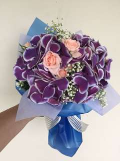 Purple Hydrangea (Holland)bouquet