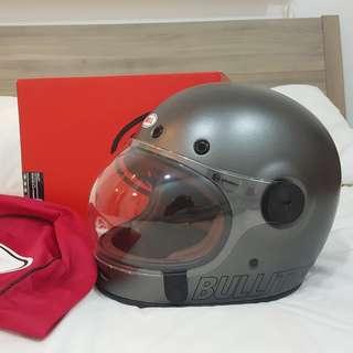 Bell Bullitt Metalic Titanium Retro Helmet