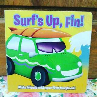 Surf's up, fin!