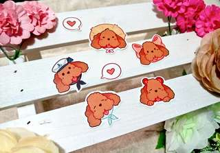 Makkachin ❤ Best Dog Stickers