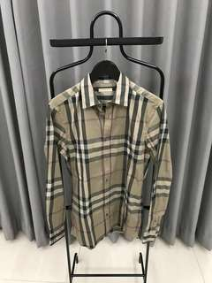 Burberry Shirt Green Authentic