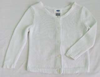 Old Navy Knitted White Blazer for Baby Girl 12-18months