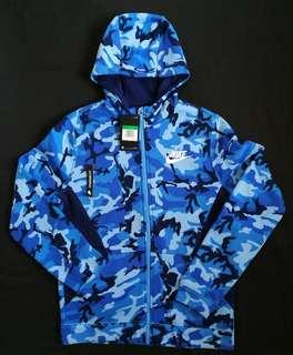 (YXL) Nike Camouflage Hoodie full zipped