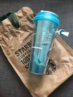 2017 Starbucks Korea Seoul Tower City Tumbler