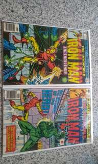 Iron Man bronze age comics