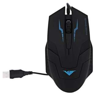 I5 WIRED USB GAMING MOUSE WITH LED BACKLIT