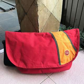 CDAC Messenger Bag Pink Yellow
