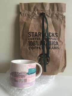 2017 Starbucks Korea Gyeongju City Mug 89ml