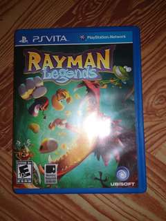 Rayman legend ps vita games