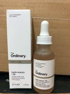 🚚 The ordinary lactic acid 5% +HA 乳酸角質代謝
