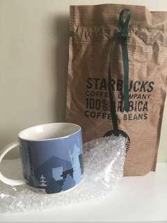 2017 Starbucks Korea Seoul Palace City Mug 89ml