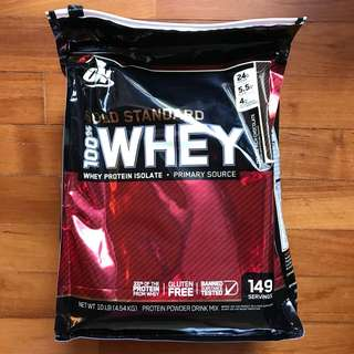 Optimum Nutrition (10.37lb) Gold Standard Whey Double Rich Chocolate [Online Exclusive]