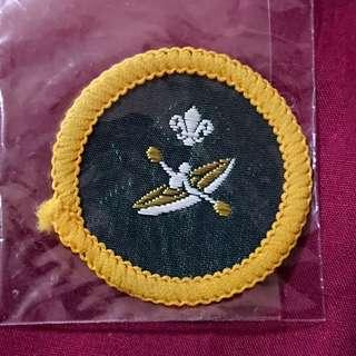 70s Scout Instructor Proficiency Badge 童軍 教導組 專科章