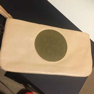Oroton Clutch Cream Color