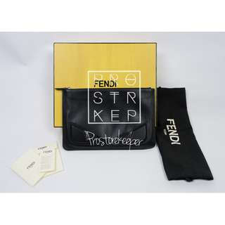 FENDI 3D Monster Eyes Clutch / Pouch