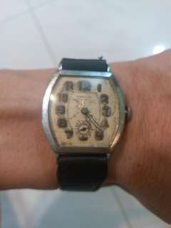 古董錶 小三針 手上鏈