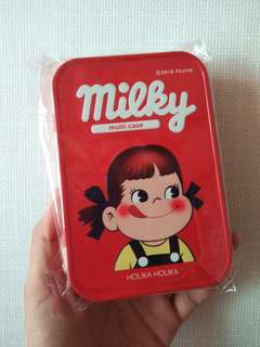 韓製牛奶妹多用途鐵盒