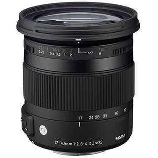Sigma 17-70mm f/2.8-4 DC Macro HSM Lens