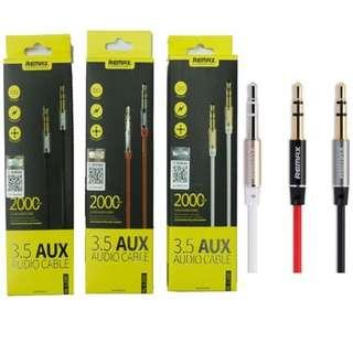 🚚 Remax 3.5mm AUX Audio Cable L100/L200