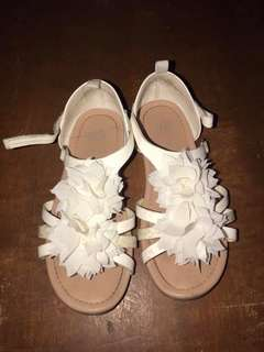 H&m white sandals