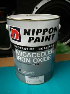 Nippon Micaceous Iron Oxide Protective Coating Paint