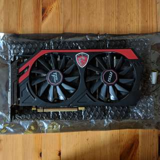GTX 760 2GB (MSI TWIN FROZR) Geforce graphics card