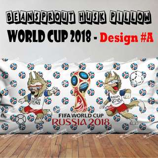 Beansprout Husk Pillow - World Cup 2018 (Limited Edition)