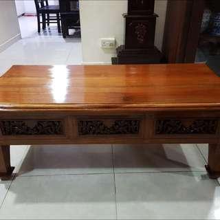 Vintage Teakwood Coffee Table
